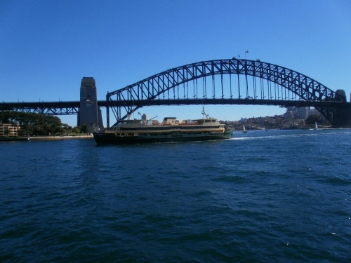 Sydney Harbour Bridge and Ferry