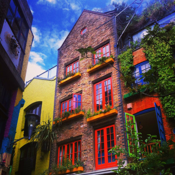Neals Yard, Covent Garden London