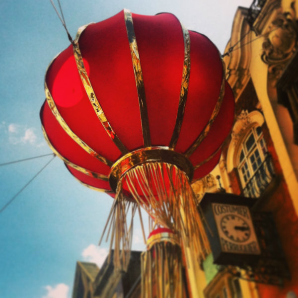 Red lantern Chinatown London