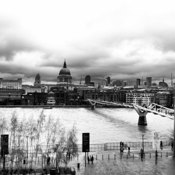 View from The Tate Balcony London