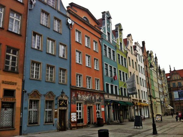 colour in Gdansk