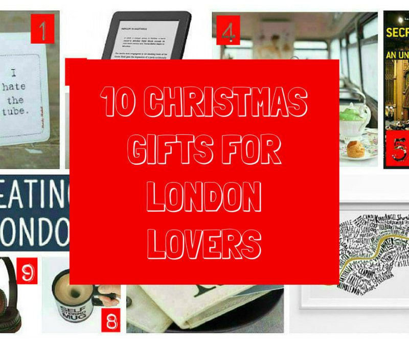 christmas gifts for london lovers