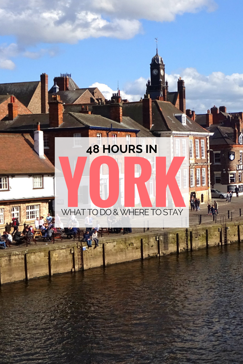 48 hours in York