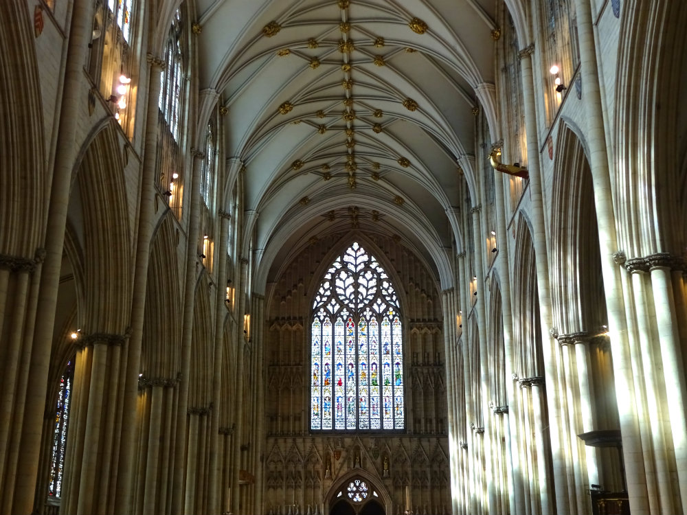 A weekend in york pack your passport for West window york minster