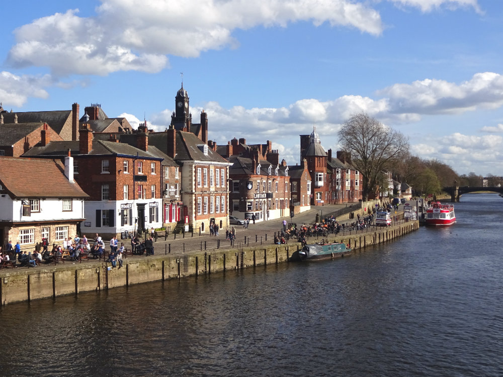 view from ouse bridge