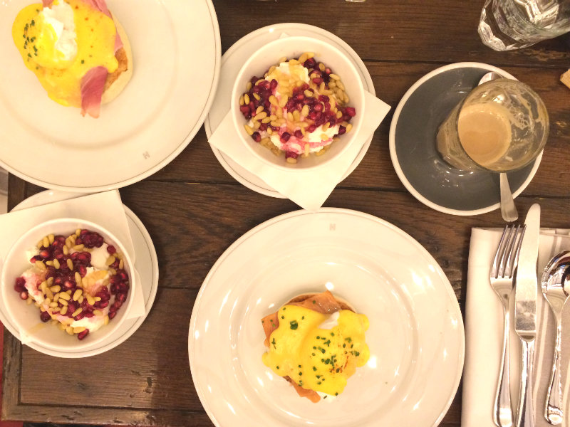 brunch from above holborn dining room. A Very British Brunch at Holborn Dining Room