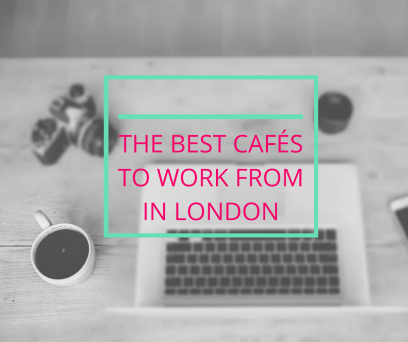 best cafes to work from London