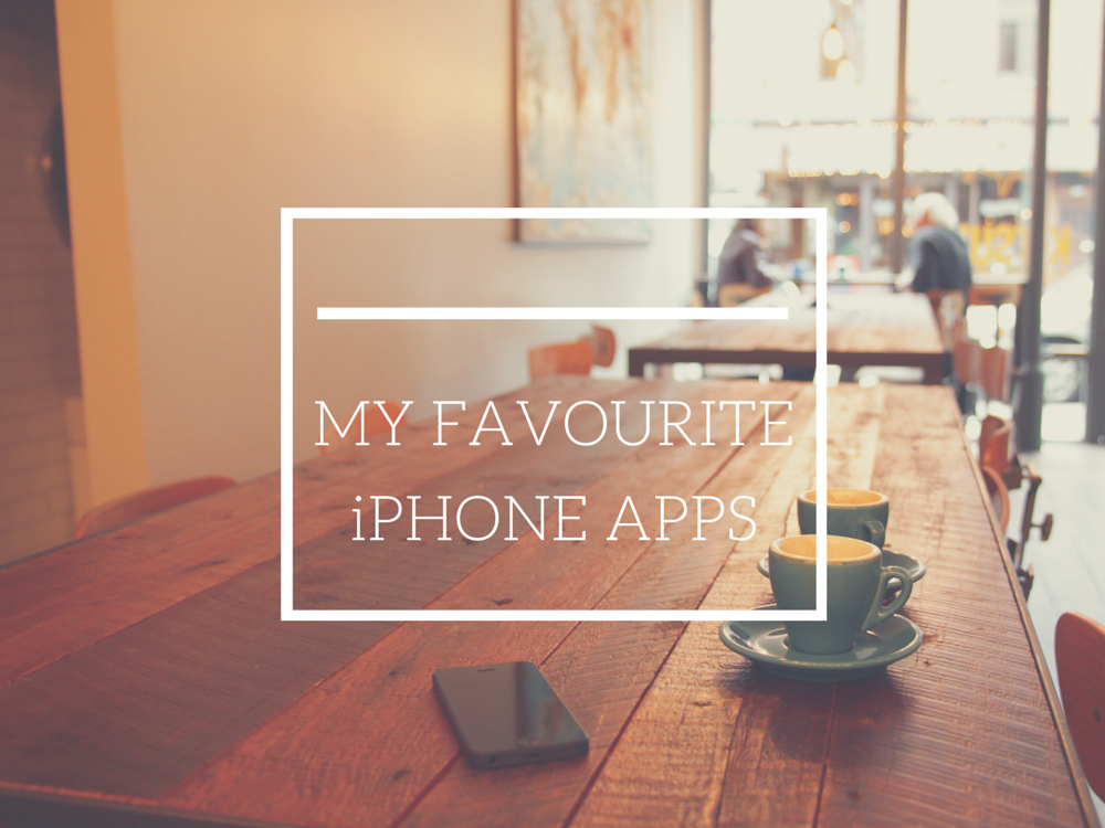 favourite iphone apps