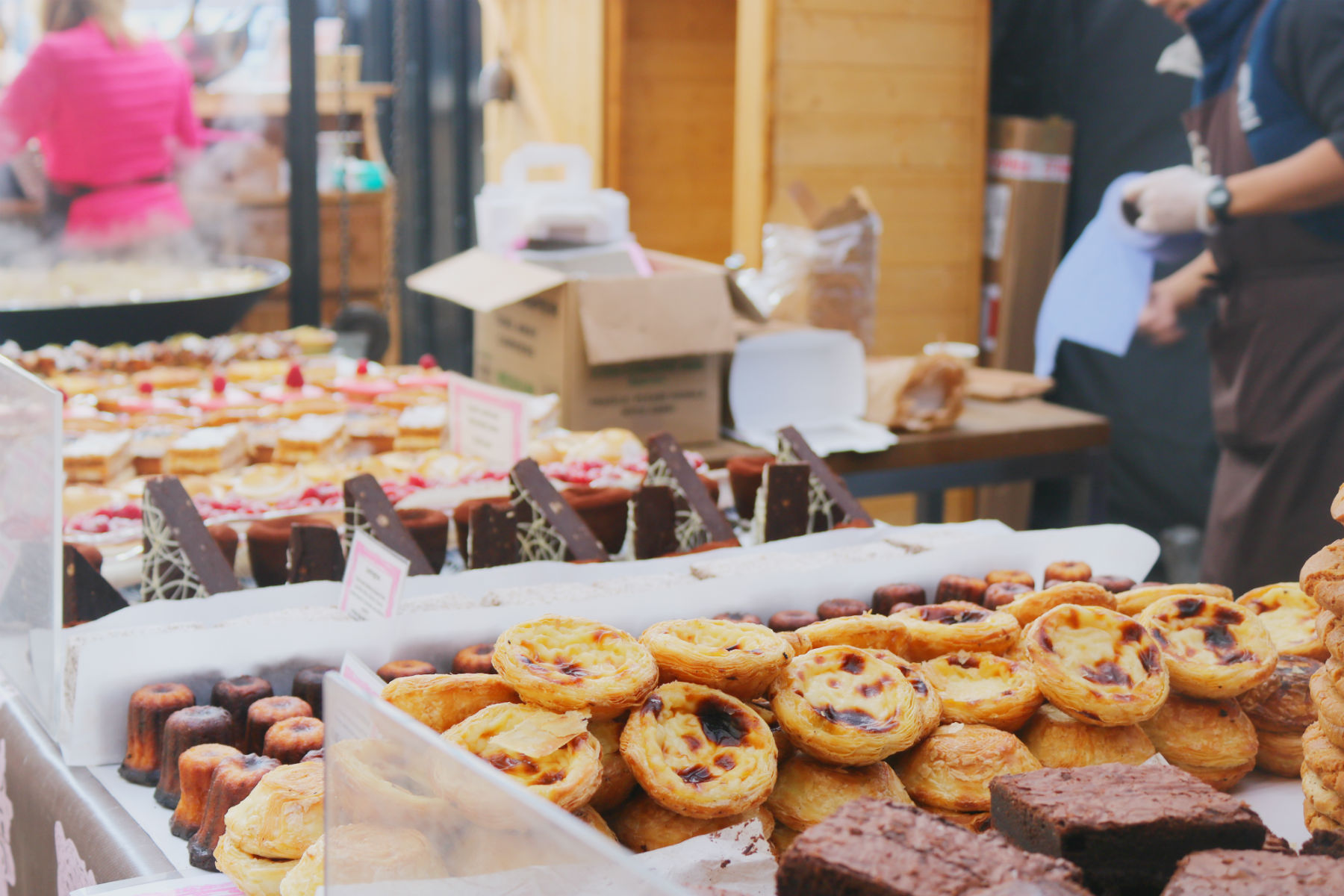 Cake stall, Maltby Street Market