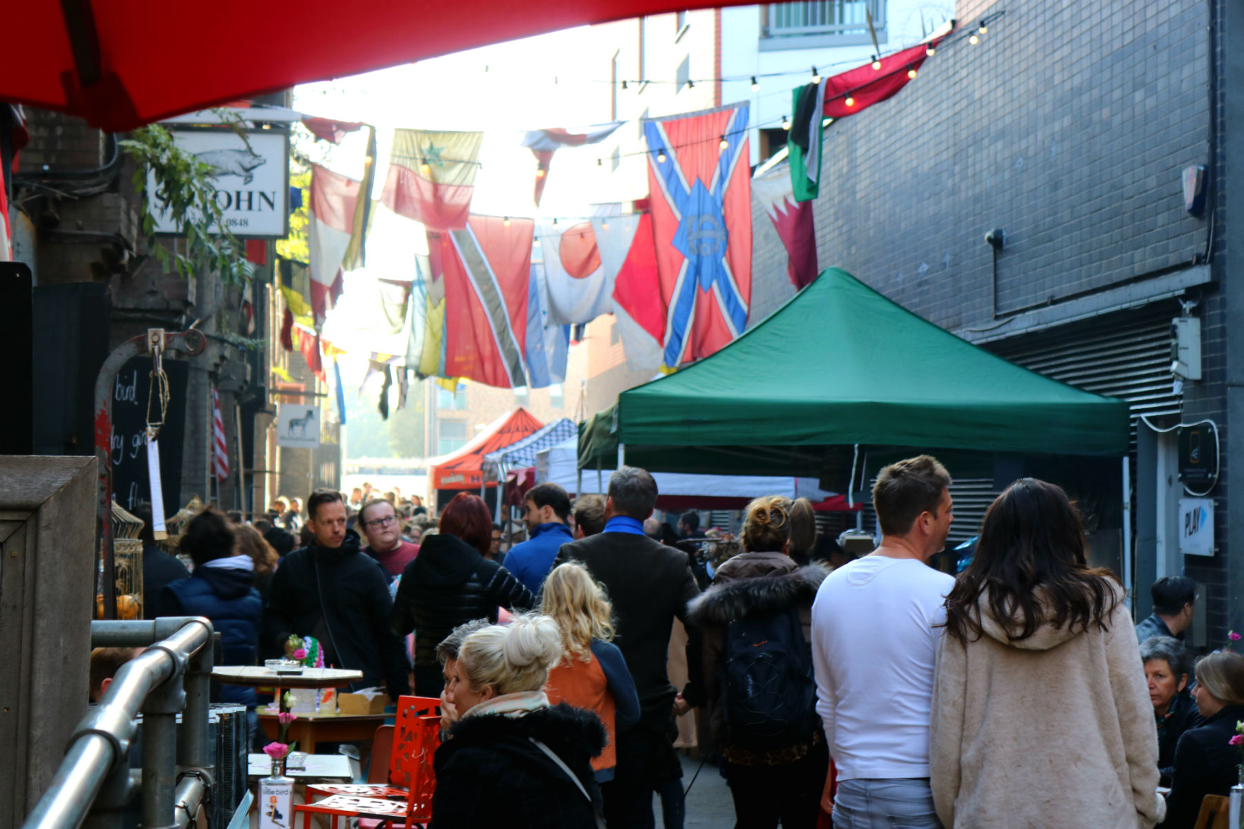 Malty Street Market, London