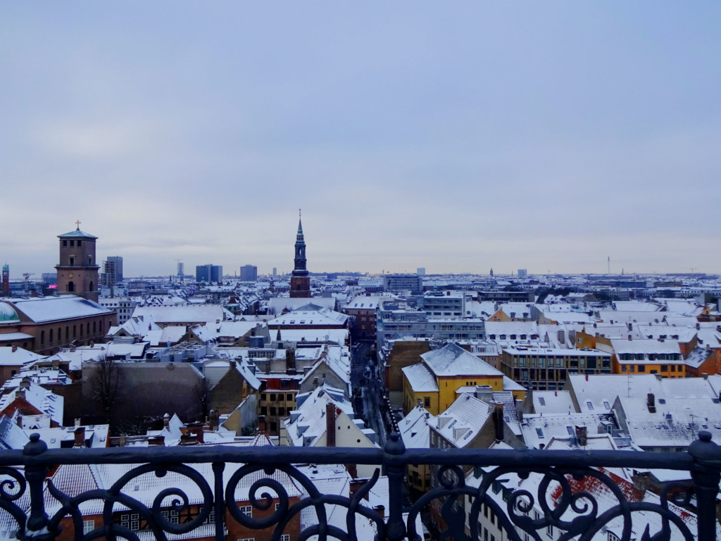 view over Copenhagen