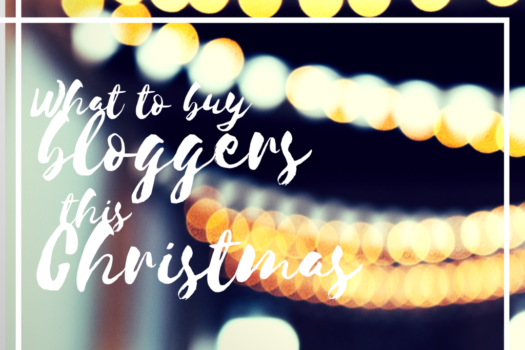 bloggers gift guide