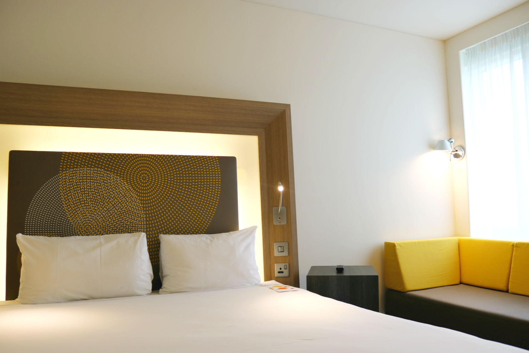 Double Bedroom at Novotel London Blackfriars