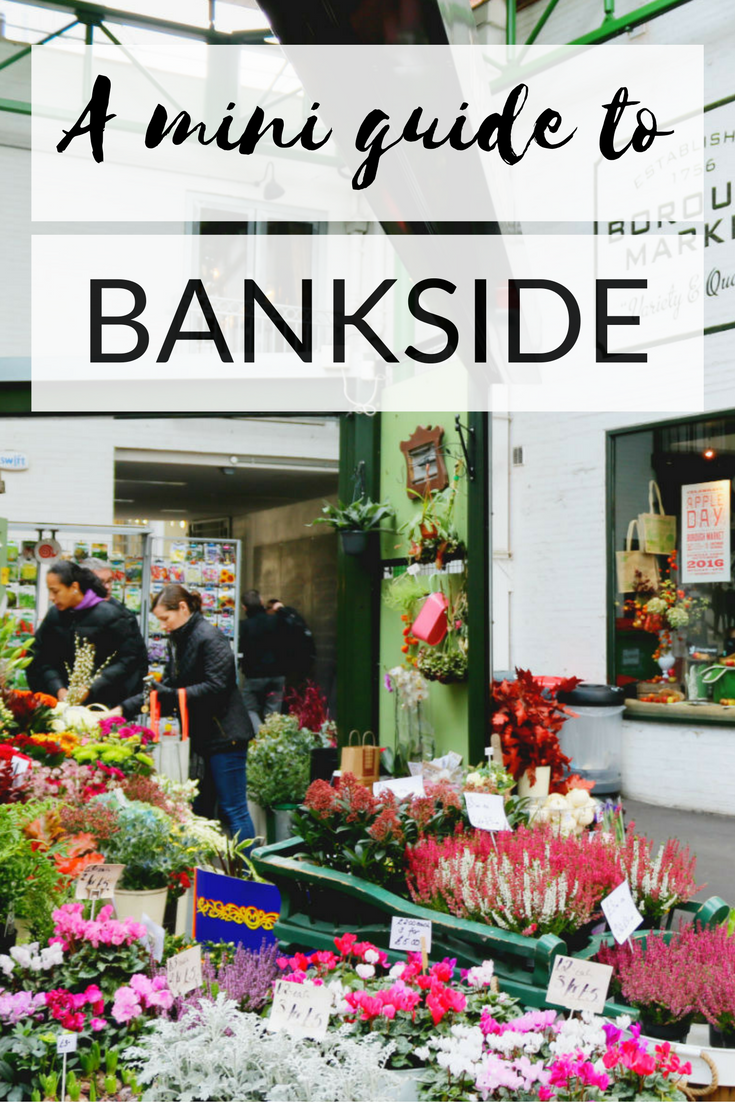 Pinterest mini guide to Bankside London