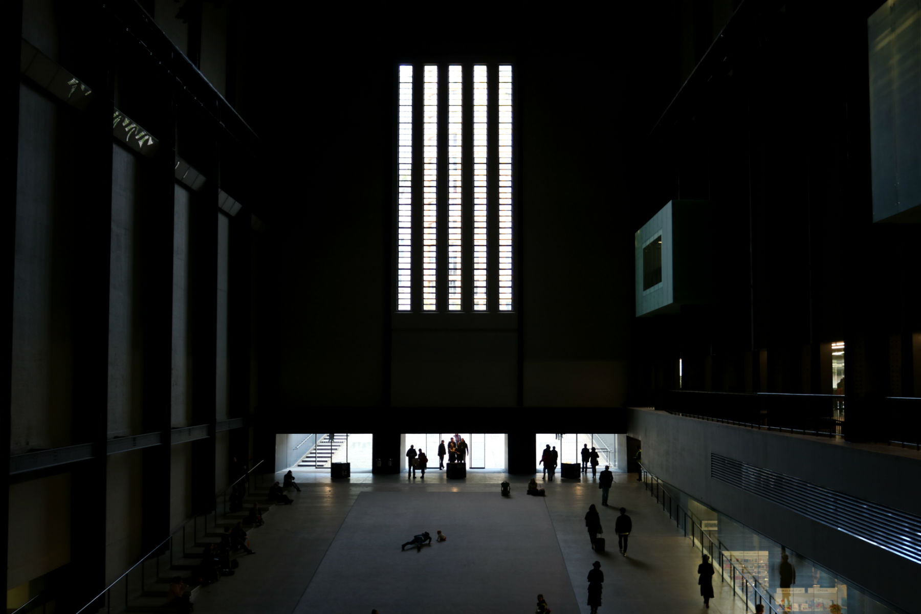 The Great Hall at Tate Modern, London Bankside