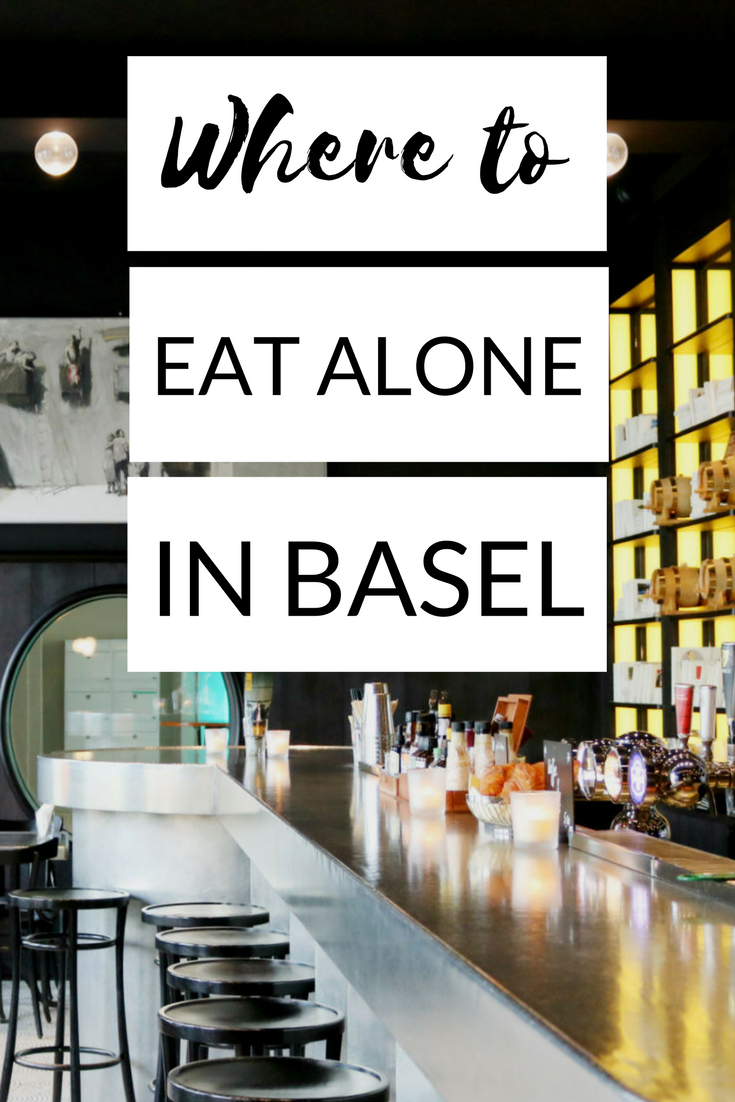 Where to eat alone in Basel