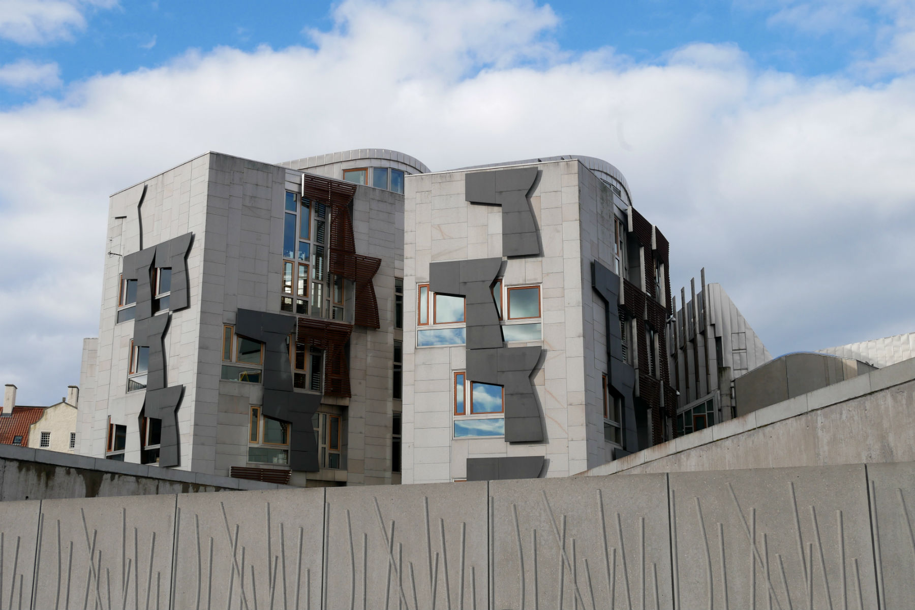 scottish parliament building 2