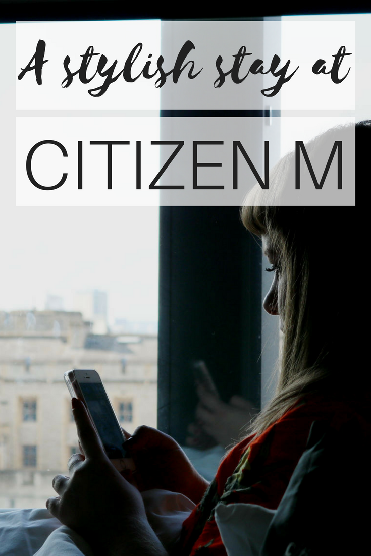 stylish stay at citizen m tower of london