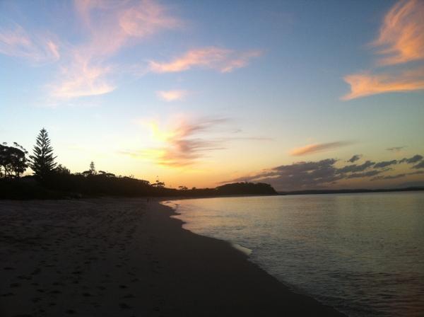 Sunset at Shoal Bay, NSW