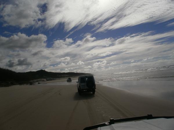 4x4 tag-along tour, Fraser Island