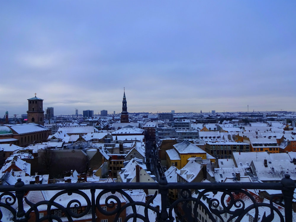 View from The Round Tower, Copenhagen