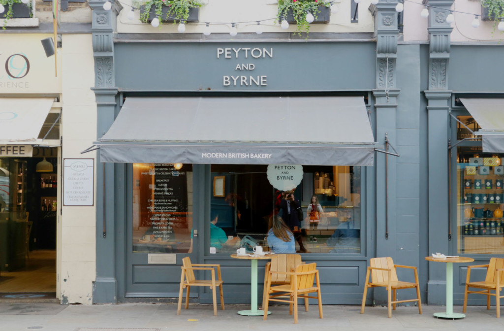 Peyton and Byrne, Covent Garden