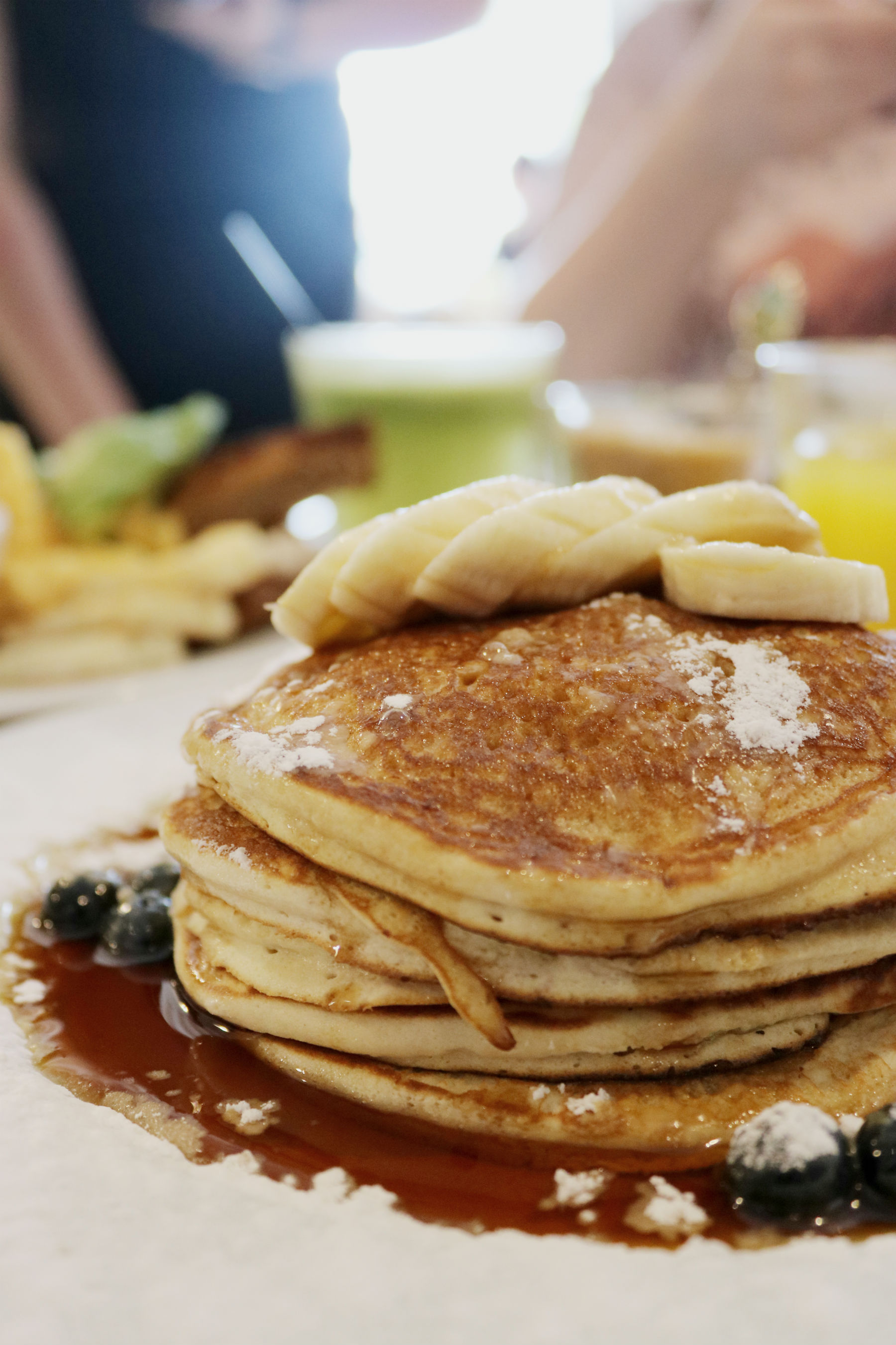 pancake stack bakers and roasters amsterdam